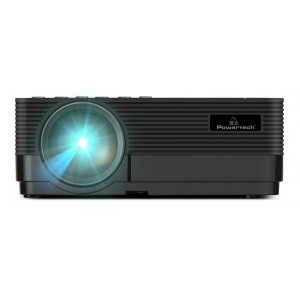 POWERTECH Projector PT-829, Wi-Fi Airplay, 1080p, 2x HDMI, LED, μαύρος PT-829
