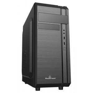POWERTECH PC Case PT-849, 2x USB 2.0, 1x 80mm fan, με PSU 500W PT-849