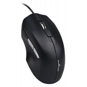 POWERTECH ενσύρματο ποντίκι PT-851, 1600DPI, USB, μαύρο PT-851