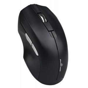 POWERTECH ασύρματο ποντίκι PT-852, 1200DPI, οπτικό, μαύρο PT-852
