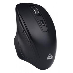 POWERTECH ασύρματο ποντίκι PT-853, 1000DPI, Nano USB-A & USB-C, μαύρο PT-853