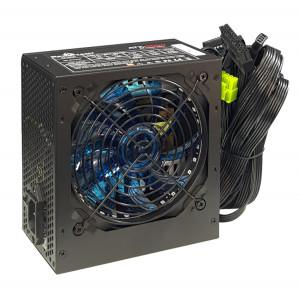 POWERTECH τροφοδοτικό για PC PT-905, μπλε LED fan, 500W PT-864