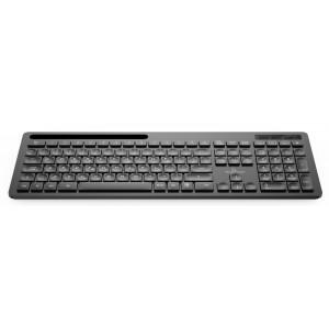 POWERTECH ασύρματο πληκτρολόγιο PT-934, Bluetooth 5.0 & 2.4GHz, μαύρο PT-934