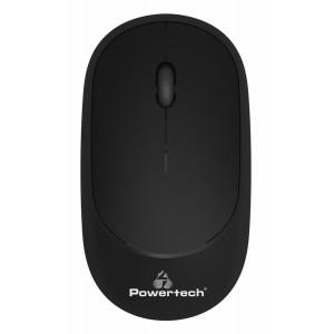 POWERTECH ασύρματο ποντίκι PT-952, οπτικό, 1600DPI, μαύρο PT-952