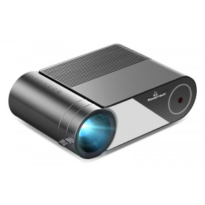 POWERTECH LED βιντεοπροβολέας PT-962, Wi-Fi Airplay, 1080p, HDMI, μαύρος PT-962