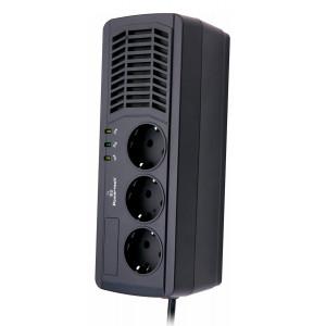 POWERTECH σταθεροποιητής ρεύματος PT-AVR1000I, 1000VA/500W, 3x schuko PT-AVR1000I