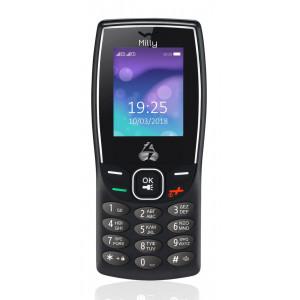 POWERTECH Κινητό Τηλέφωνο Milly PTM-09, Dual Sim, με φακό, μαύρο PTM-09