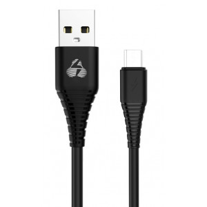POWERTECH Καλώδιο USB σε Micro USB eco PTR-0056 copper, 1m , μαύρο PTR-0056