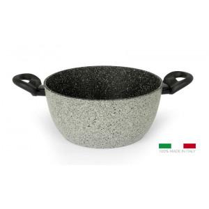 FLONAL Κατσαρόλα αντικολλητική Pietra Viva 20cm με λαβή βακελίτη PVPC22070