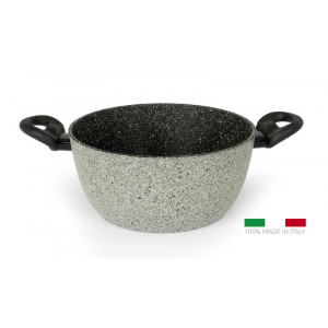 FLONAL Κατσαρόλα αντικολλητική Pietra Viva 24cm με λαβή βακελίτη PVPC22470