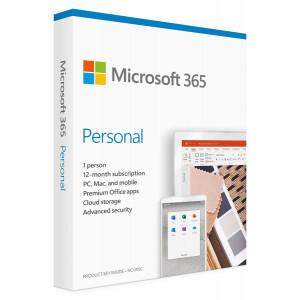 MICROSOFT Office 365 Personal QQ2-00989, English, medialess P6, 1 έτος QQ2-00989