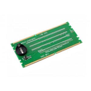 Tester για DDR2/DDR3 RAM slot μητρικής με ενδείξεις LED RAMSLOT-TSTR