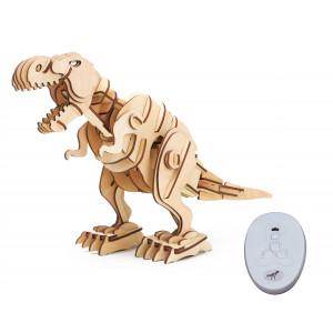 ROKR Ξύλινο 3D πάζλ δεινόσαυρος T-Rex RBT-D200, με κίνηση & ήχο, 102τμχ RBT-D200