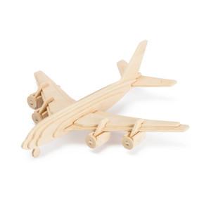 ROWOOD Ξύλινο 3D πάζλ αεροπλάνο JP270, 35τμχ RBT-JP270