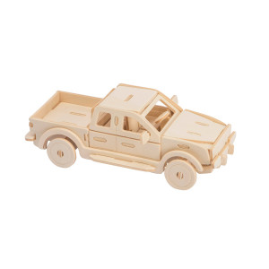 ROWOOD Ξύλινο 3D πάζλ φορτηγό JP272, 34τμχ RBT-JP272
