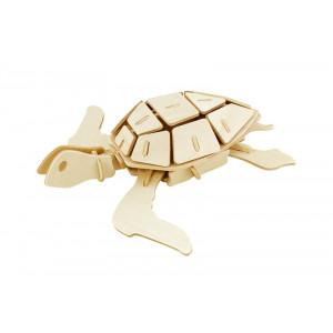 ROWOOD Ξύλινο 3D πάζλ θαλάσσια χελώνα JP295, 69τμχ RBT-JP295