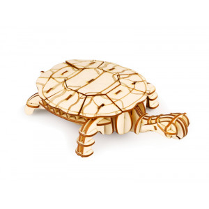 ROLIFE Ξύλινο 3D πάζλ χελώνα TG275, 63τμχ RBT-TG275