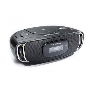 THOMSON Φορητο ηχοσυστημα RCD400BT, bluetooth FM/CD/USB, μαυρο RCD400BT