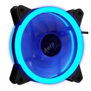 AEROCOOL LED ανεμιστήρας REV, 120mm, μπλε REV-BLUE