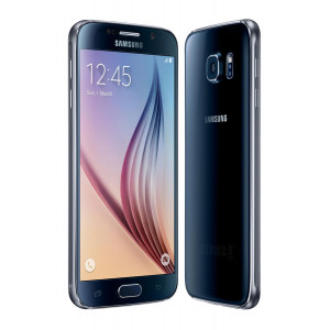SAMSUNG Refurbished Smartphone Galaxy S6, 4G, 5.1, 3GB, 32GB, Blue, SQ RFR-GS6-BL