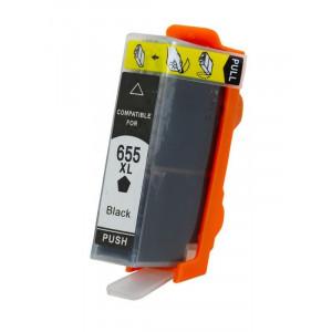 Συμβατο Inkjet για HP, 655, 21.6ml, Black RP-H-0655BK