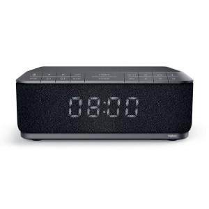 BIGBEN ξυπνητήρι RR140INBT, bluetooth, FM Radio, Ασύρματη φόρτιση, μαύρο RR140INBT