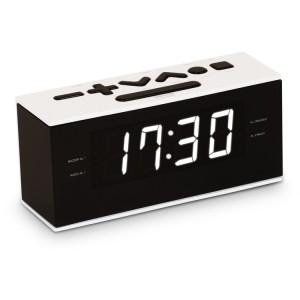 BIGBEN Ξυπνητήρι RR60NG, FM radio, Dual alarm, λευκό RR60BCN
