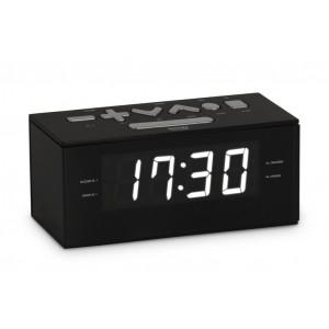 BIGBEN Ξυπνητήρι RR60NG, FM radio, Dual alarm, μαύρο RR60NG
