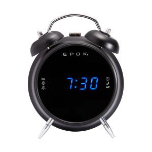 BIGBEN Ξυπνητήρι RR90EPOKN, FM Radio, LED, μαύρο RR90EPOKN
