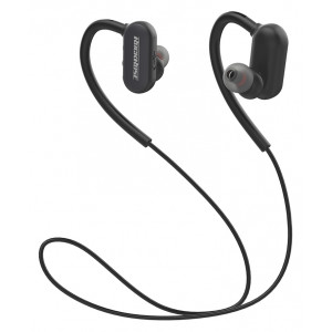 ROCKROSE bluetooth earphones Parkour ME, BT 5.0, 110mAh, μαύρο RRWE09