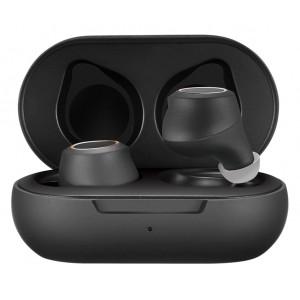 ROCKROSE earbuds Opera III με θήκη φόρτισης, True Wireless, μαύρα RRWE13B