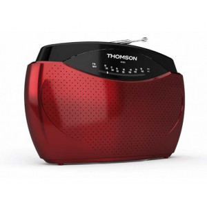 THOMSON Φορητο ραδιοφωνο RT223 FM/MW, κοκκινο RT223