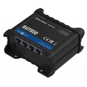 TELTONIKA industrial cellular router RUT950, 4G LTE Cat 4, Wi-Fi RUT950