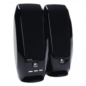 LOGITECH Ηχεία S-150, 1.2W RMS, 2.0CH, USB, μαύρα S150-BK