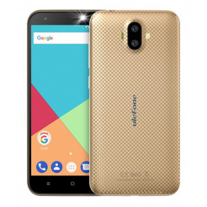 ULEFONE Smartphone S7, 5 HD, 2GB/16GB, Quad Core, Dual Cameras, Gold S7-GD