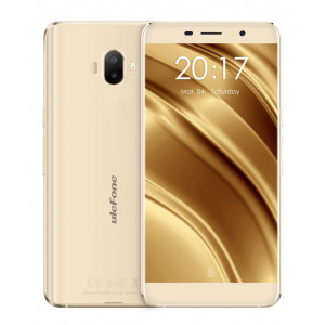 ULEFONE Smartphone S8, 5.3 HD, 2GB/16GB, Quad Core, Dual Camera, Gold S8-GD