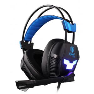 SADES Gaming Headset Xpower Plus, Vibration, USB, 40mm ακουστικα