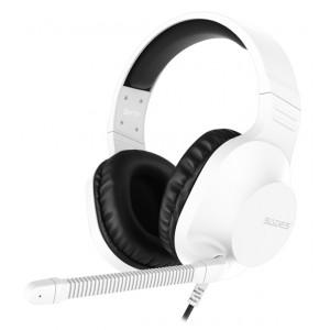 SADES Gaming Headset Spirits SA-721, multiplatform, 3.5mm, λευκό SA-721-WH