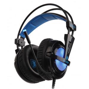 SADES Gaming Headset Locust Plus, USB, 7.1CH με 40mm ακουστικα SA-904