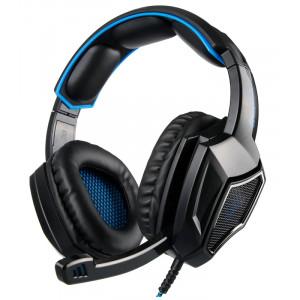SADES gaming headset SA-920 Plus, 3.5mm, 40mm, μπλε SA-920-BL