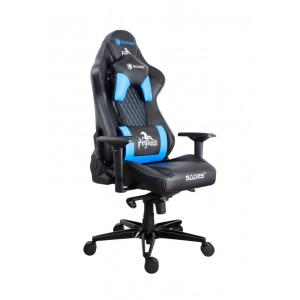 SADES Gaming Καρέκλα AD5 Pegasus, Εργονομική, μαύρη-μπλε SA-AD5