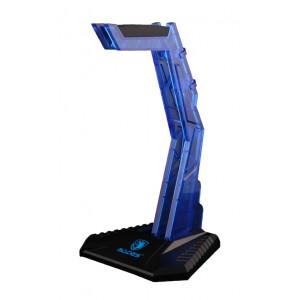 SADES Stand Wolfbone D1 για headset, μπλε SA-D1