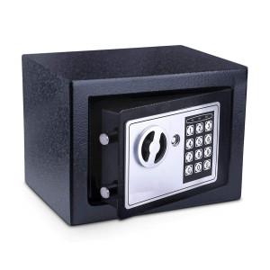 POWERTECH Χρηματοκιβώτιο ασφαλείας SB-17E, 3-8 ψηφίων, 17x23x17cm SB-17E