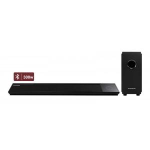 ΤHOMSON Soundbar SB270IBTWS, Bluetooth, ασύρματη φόρτιση, 300w, μαύρο SB270IBTWS