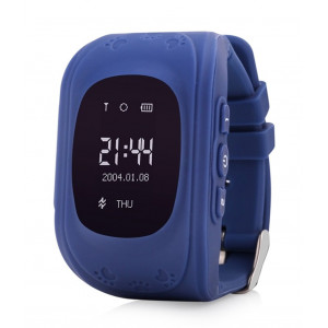GPS Παιδικό ρολόι χειρός GW300, SOS-Βηματομετρητής, σκούρο μπλε SD-GW300-DBL