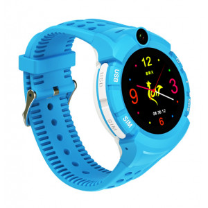 GPS Παιδικό ρολόι χειρός SD-S02-BL, SOS-Βηματομετρητής, μπλέ SD-S02-BL