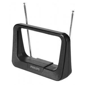 PHILIPS Ψηφιακή κεραία τηλεόρασης SDV1226/12, HDTV DVB-T/T2, 28dB, 4K SDV1226-12
