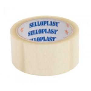 SELLOPLAST Αυτοκόλλητη ταινία SEL-005, διάφανη, 48mm, 60m, 6τμχ SEL-005