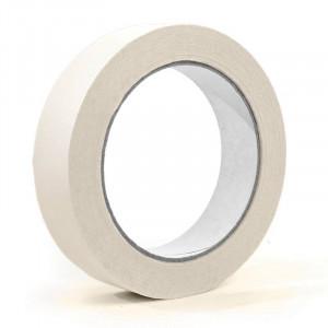SELLOPLAST Χαρτοταινία Masking 60°C λευκή SEL-007, 19mm, 40m, 8τμχ SEL-007