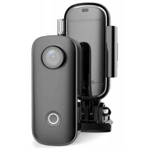 SJCAM Mini Action Cam C100+, 2K, 15MP, WiFi, αδιάβροχη, μαύρη SJ-C100